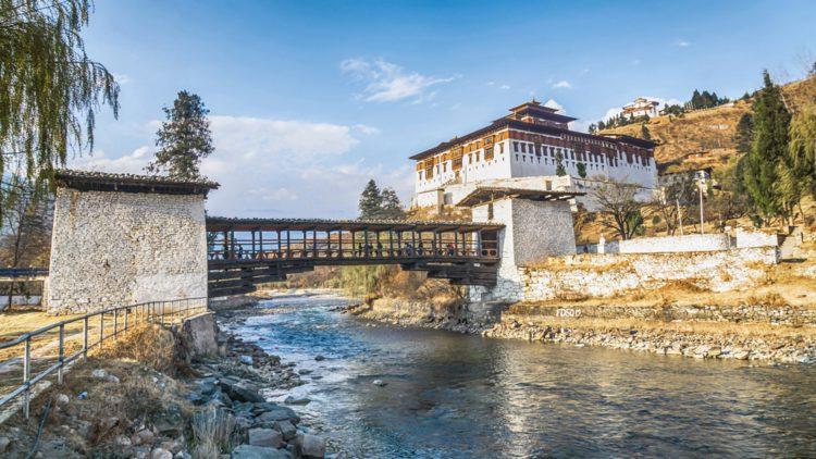 Монастырь Ринпунг-дзонг (Паро-дзонг) - достопримечательности Бутана