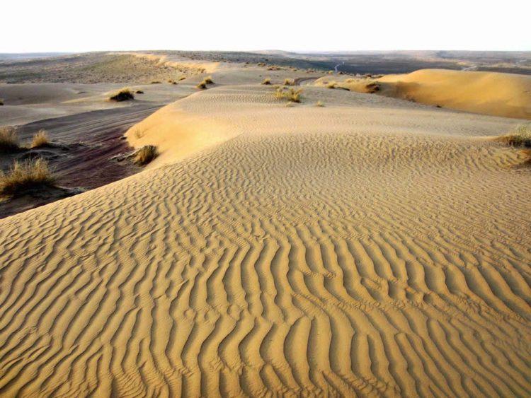 Пустыня Каракумы - достопримечательности Туркмении