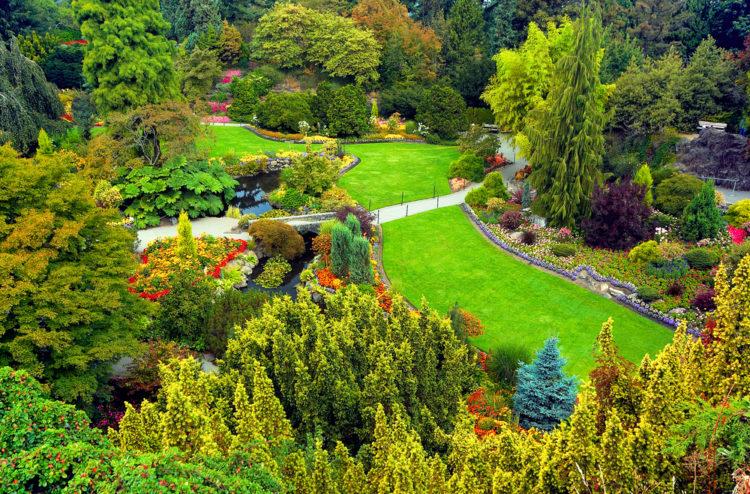 Парк королевы Елизаветы - достопримечательности Ванкувера