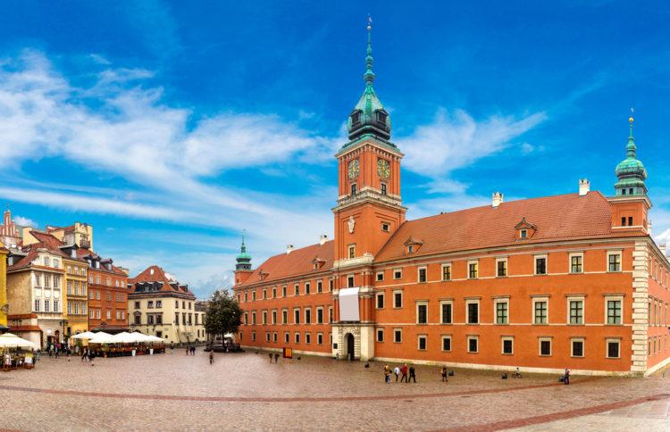 Королевский замок - достопримечательности Варшавы