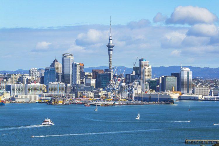 Башня Sky Tower - достопримечательности Новой Зеландии