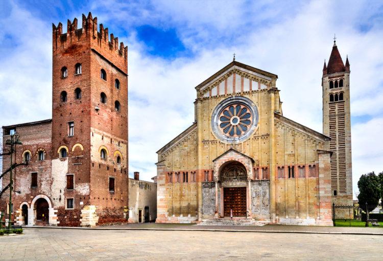 Базилика Сан-Дзено Маджоре - достопримечательности Вероны