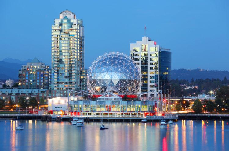 Центр «Научный Мир» - достопримечательности Ванкувера