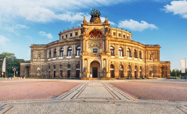 Опера Земпера - достопримечательности Дрездена
