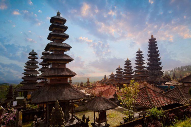 Храм Пура Бесаких - достопримечательности Бали