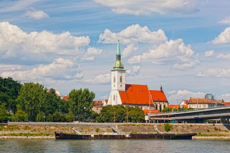 Собор Святого Мартина - достопримечательности Братиславы