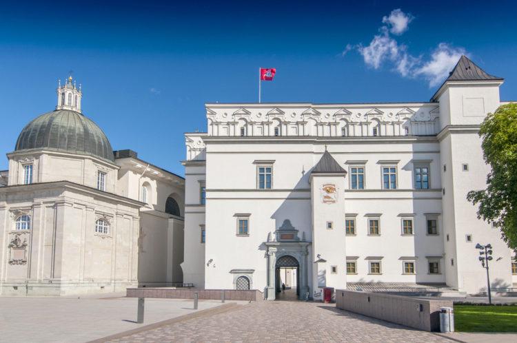 Дворец великих князей литовских - достопримечательности Вильнюса