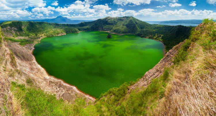 Вулкан Тааль - достопримечательности Филиппин
