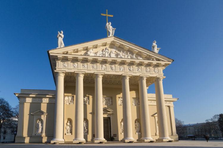 Кафедральный собор Святого Станислава - достопримечательности Вильнюса