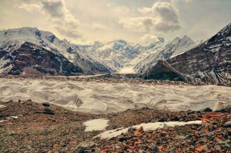 Ледник Иныльчек - достопримечательности Киргизии