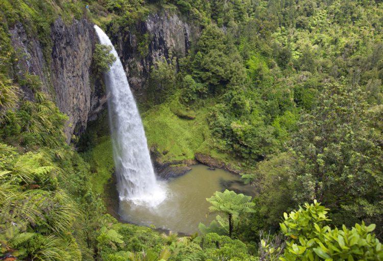 Водопады Хука - достопримечательности Новой Зеландии