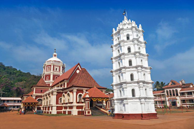 Храм Шантадурга - достопримечательности Гоа