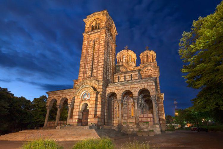 Церковь Святого Марка - достопримечательности Белграда