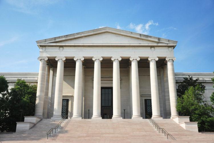Национальная галерея искусства - достопримечательности Вашингтона