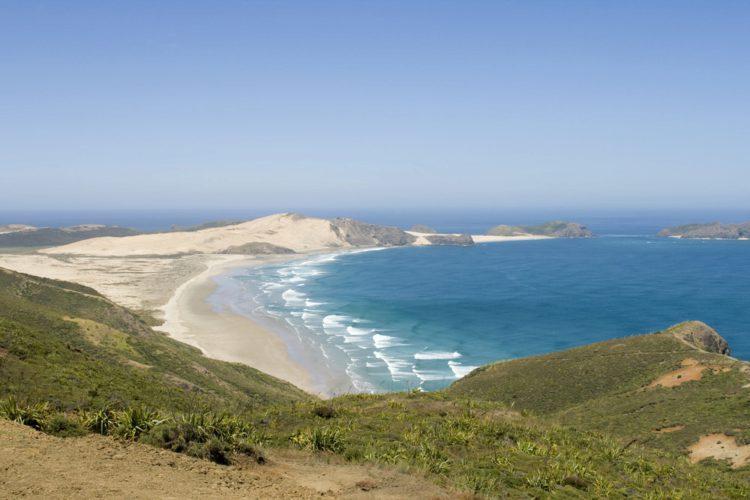 Пляж Найнти Майл (Ninety Mile Beach) - достопримечательности Новой Зеландии