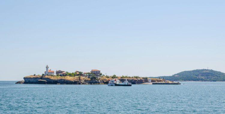 Остров Святой Анастасии 0 достопримечательности Бургаса