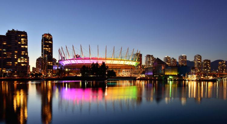 Стадион Би-Си Плэйс - достопримечательности Ванкувера