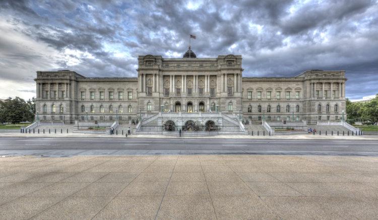 Библиотека Конгресса - достопримечательности Вашингтона