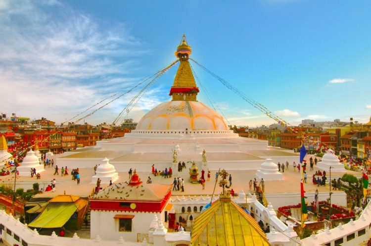 Храмовый центр Боднатх - достопримечательности Непала