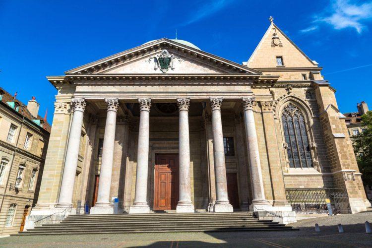 Собор Святого Петра - достопримечательности Женевы
