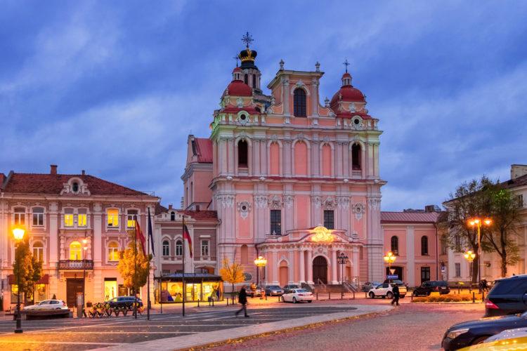Костёл Святого Казимира - достопримечательности Вильнюса