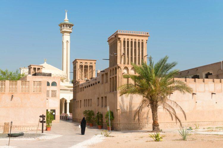 Район Бастакия - достопримечательности Дубая