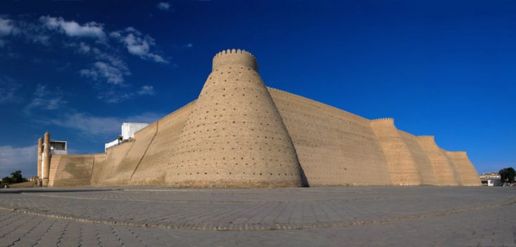 Цитадель Арк - достопримечательности Узбекистана