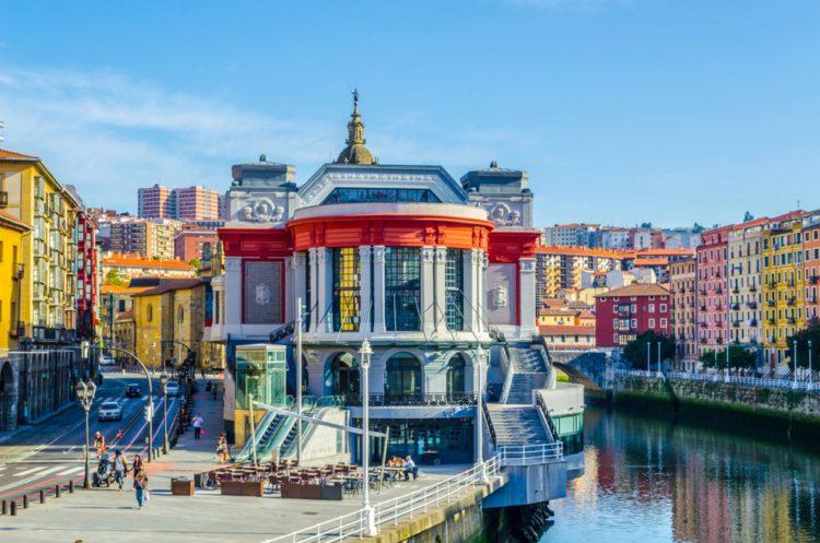 Рынок Рибера - достопримечательности Бильбао