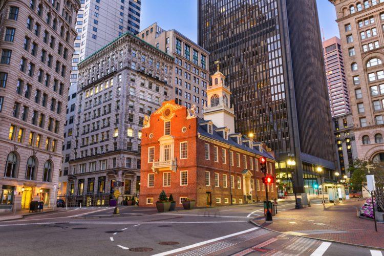 Старый Капитолий - достопримечательности Бостона