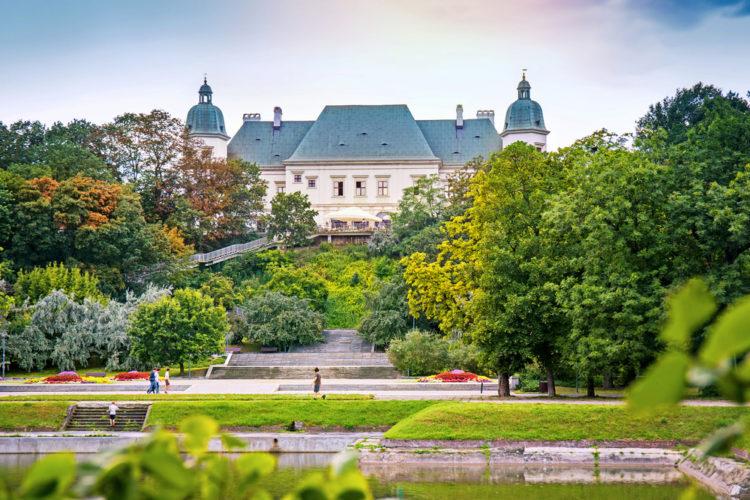 Уяздовский замок - достопримечательности Варшавы