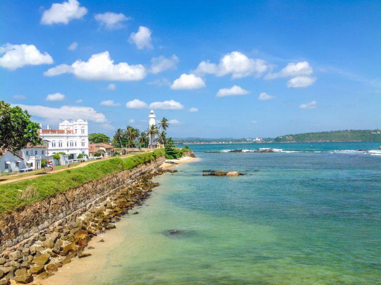 Голландский форт в Галле - достопримечательности Шри-Ланки