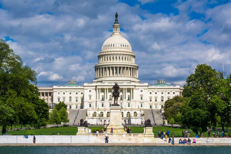 Капитолий - достопримечательности Вашингтона
