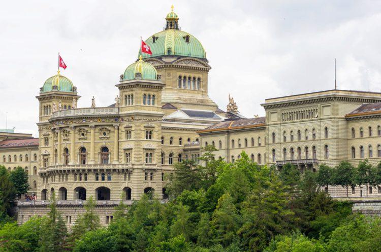 Федеральный дворец - достопримечательности Берна