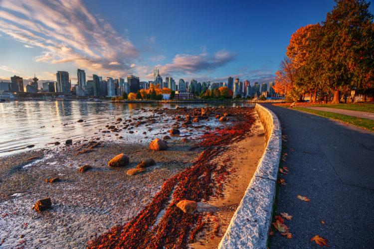 Парк Стэнли - достопримечательности Ванкувера