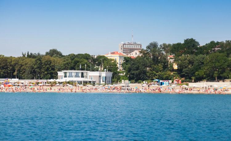 Центральный пляж - достопримечательности Бургаса