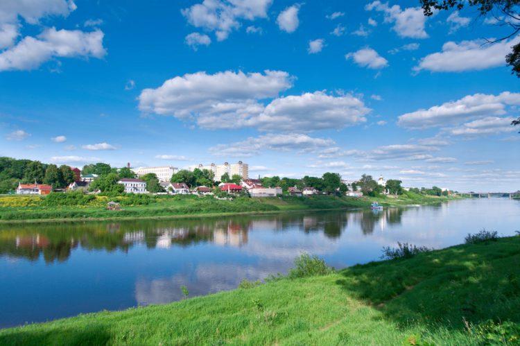 Река Западная Двина - достопримечательности Витебска