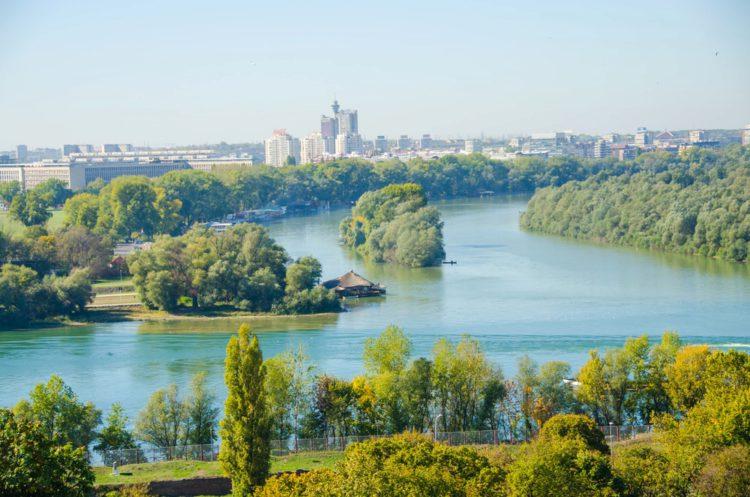 Реки Дунай и Сава - Что посмотреть в Белграде