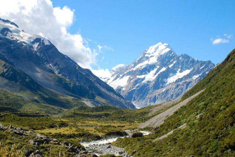 Национальный парк Маунт-Кук - Что посмотреть в Новой Зеландии