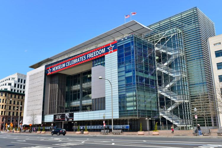 Музей журналистики и новостей - достопримечательности Вашингтона