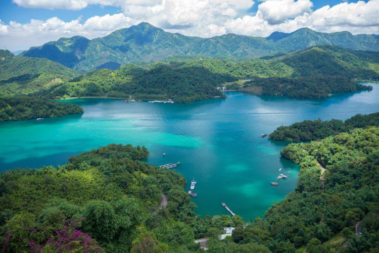 Озеро Солнца и Луны - достопримечательности Тайваня