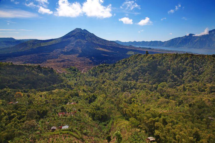 Вулкан Батур - достопримечательности Бали