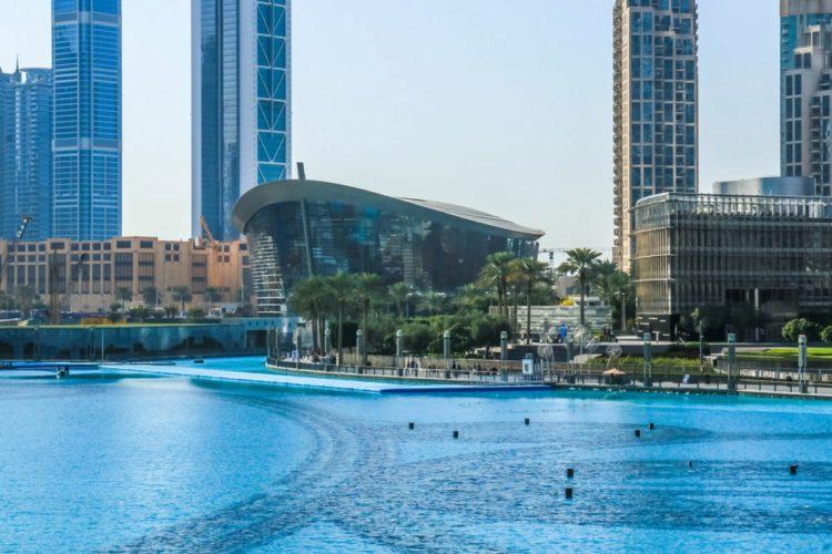 Дубайская опера - достопримечательности Дубая