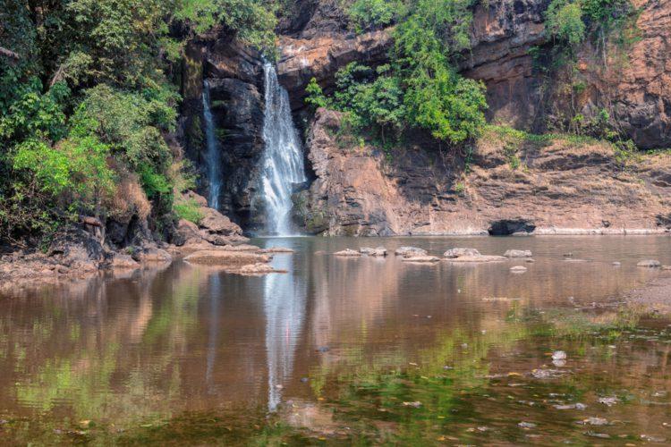 Водопад Арвалем - достопримечательности Гоа