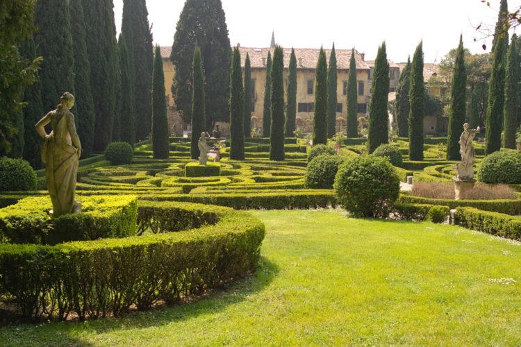 Сад Джусти - Что посмотреть в Вероне
