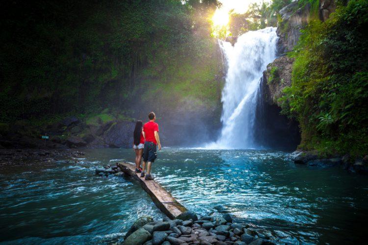 Водопад Тегенунган - достопримечательности Бали