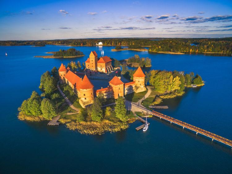 Тракайский замок - Что посмотреть в Вильнюсе