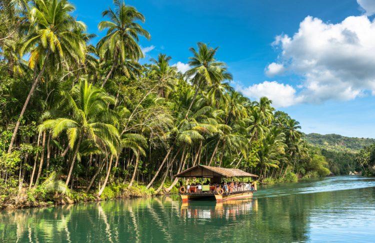 Река Лобок - Что посмотреть на Филиппинах