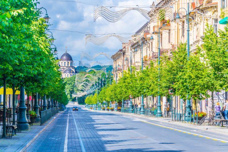 Проспект Гедимина - достопримечательности Вильнюса