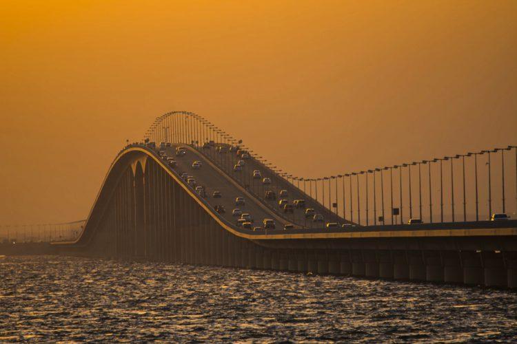 Мост короля Фахда - достопримечательности Бахрейна