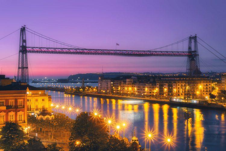 Бискайский мост - достопримечательности Бильбао